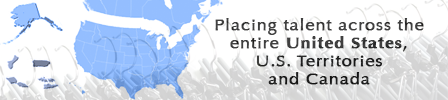 staffing solutions nationwide map